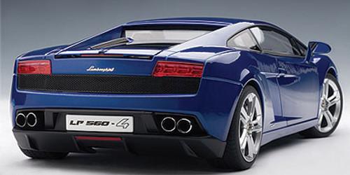 1/18 AUTOART LAMBORGHINI GALLARDO LP560-4 - BLUE / MONTERE / LUE Diecast Model 74588