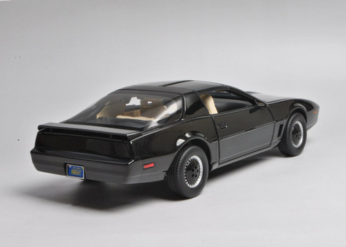 RARE 1/18 Hot Wheels Hotwheels Elite Knight Rider KITT w/ Lights & Voice Diecast Car Model