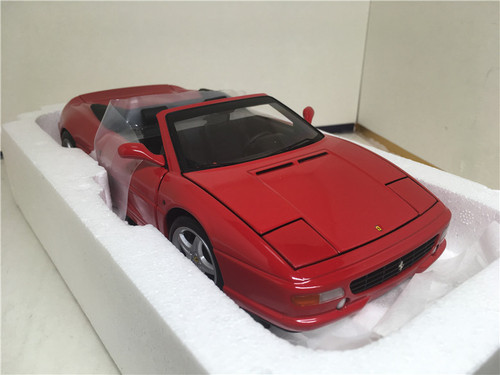 1/18 Hot Wheels Hotwheels Elite Ferrari F355 Berlinetta Spyder (Red) Diecast Model