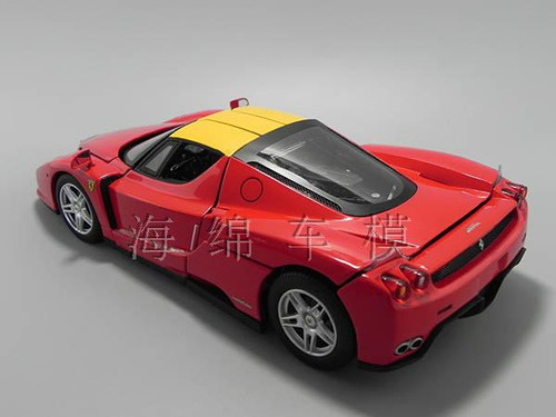 1/18 Hot Wheels Hotwheels Elite Ferrari Enzo F60 (Red) Diecast Model