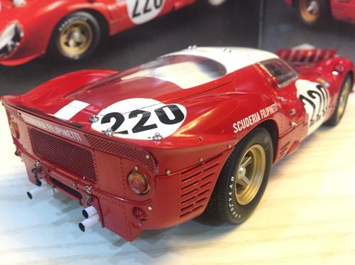 RARE 1/18 GMP Scuderia Filipinetti Ferrari 412P #220 Diecast Model G1804117