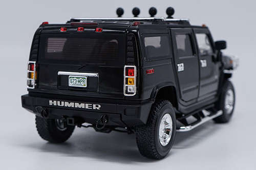 1/18 Highway 61 Highway61 Hummer H2 (Black) Diecast Model