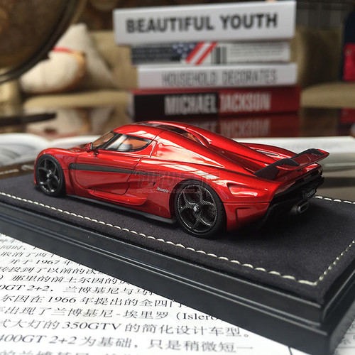 1/43 Frontiart Sophiart Koenigsegg Regera (Red) Car Model