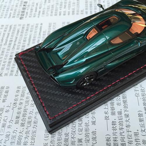 1/43 Frontiart Sophiart Koenigsegg Regera (Green) Car Model