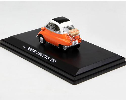 1/43 Norev BMW Isetta 250 (Orange) Diecast Car Model