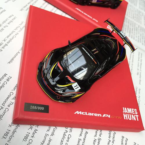 1/43 Almostreal Almost Real Mclaren P1 GTR (Black) Diecast Car Model