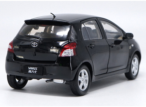 1/18 Dealer Edition Toyota Yaris / Vios (Black) Diecast Car Model