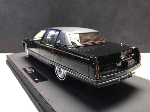 RARE 1/18 VAV 1993 Cadillac Fleetwood Brougham (Black) Resin Car Model Limited 600