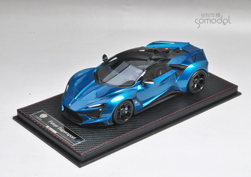 1/18 Frontiart Sophiart Lykan Fenyr (Blue) Resin Car Model