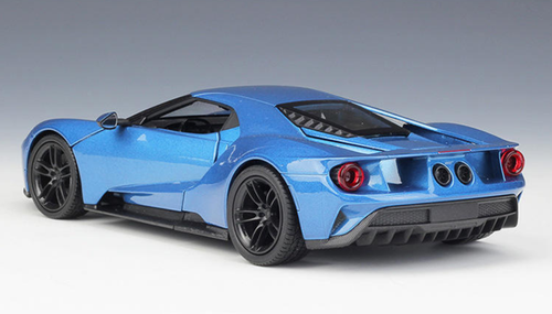 1/24 Welly FX Ford GT (Blue) Diecast Car Model