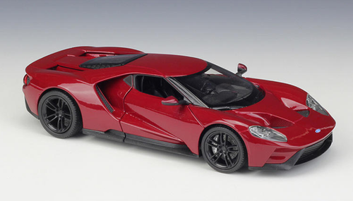 1/24 Welly FX Ford GT (Red) Diecast Car Model