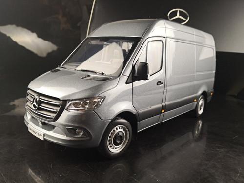 1/18 Dealer Edition Mercedes-Benz Sprinter (Grey) Diecast Model