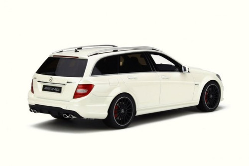 1/18 GT Spirit GTSpirit Mercedes-Benz C-Class C63 AMG Wagon (White) Limited Resin Car Model