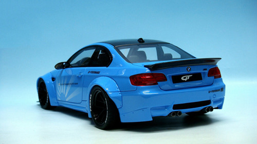 1/18 GT Spirit GTSpirit BMW E92 M3 LB Libertywalk Widebody (Blue) Resin Car Model