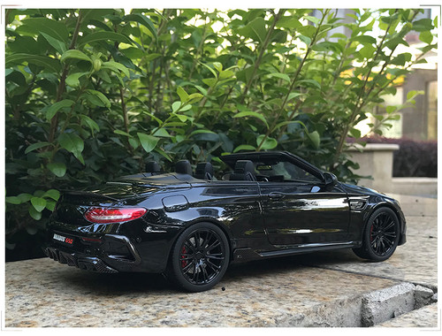 1/18 GT Spirit GTSpirit Mercedes-Benz C-Class C63 C63S AMG BRABUS 650 (Black) Limited 500 Resin Car Model