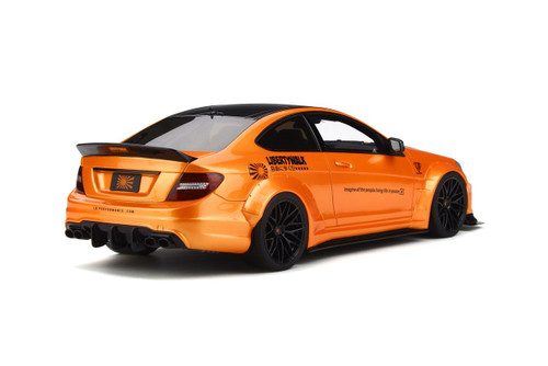 1/18 GT Spirit GTSpirit Mercedes-Benz C-Class C63 AMG W204 LB Libertywalk Widebody (Orange) Resin Car Model