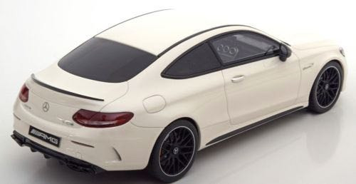 1/18 GT Spirit GTSpirit Mercedes-Benz MB C-Class C63S C63 AMG Couple (White) Resin Car Model