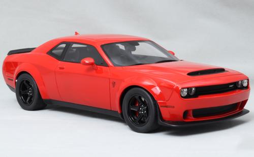 1/18 GT Spirit GTSpirit Dodge Challenger SRT (Red) Resin Car Model
