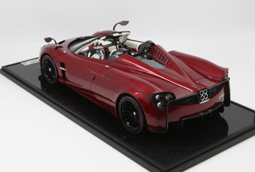 1/12 BBR Pagani Huayra Roadster (Red w/ Black Rims) Limited 20 Resin Car Model