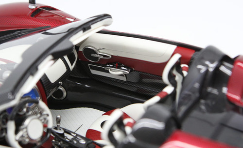 1/12 BBR Pagani Huayra Roadster (Red w/ Silver Rims) Limited 20 Resin Car Model