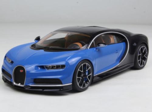 1/18 Kyosho Ousia Bugatti Chiron (Blue) Diecast Car Model