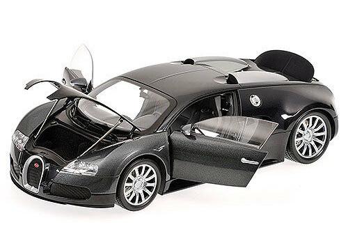 1/18 Minichamps Bugatti Veyron 16.4 (Black / Grey) Diecast Car Model