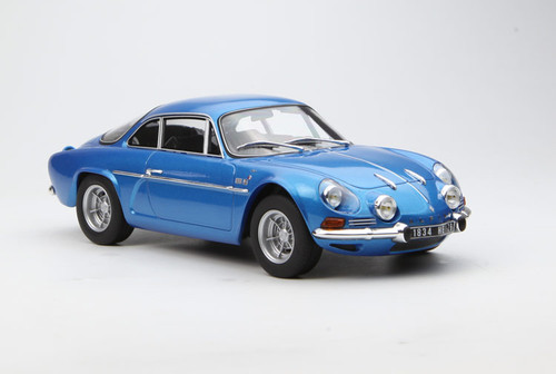 1/18 Norev 1971 Renault Alpine A110 1600S (Blue) Diecast Car Model