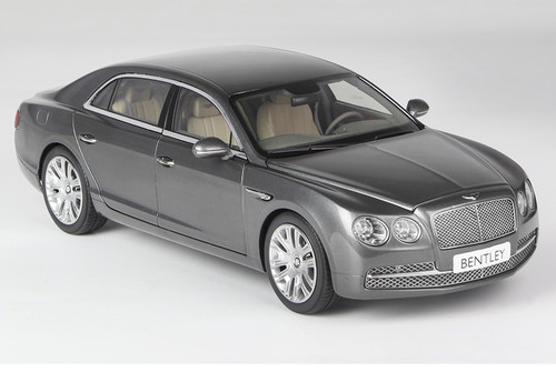 1/18 Kyosho Bentley Continental Flying Spur W12 (Grey) Diecast Car Model