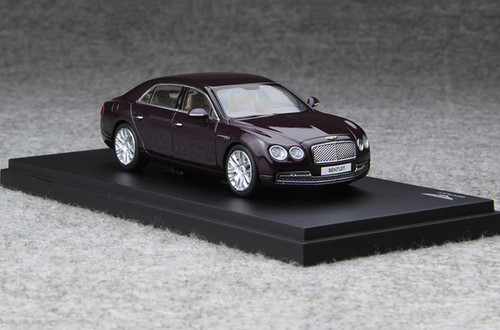 1/43 Kyosho Bentley Continental Flying Spur (Purple) Enclosed Diecast Car Model