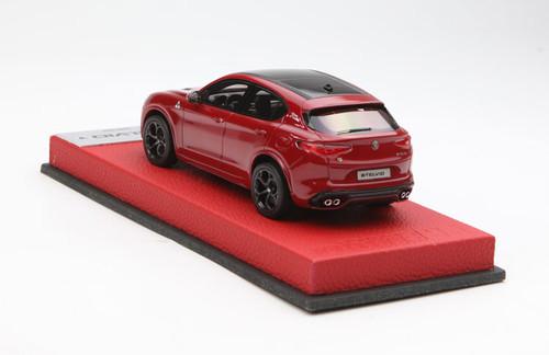 1/43 BBR Alfa Romeo Stelvio Quadrifoglio (Red) Enclosed Resin Car Model Limited 20