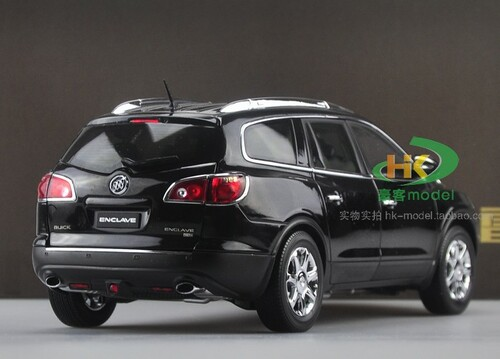 1/18 Dealer Edition Buick Enclave (Black) Diecast Car Model