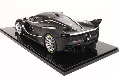 1/12 BBR Ferrari LaFerrari FXXK No.98 (Matte Star Black) Enclosed Resin Car Model Limited 10
