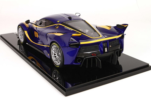 1/12 BBR Ferrari LaFerrari FXXK No.81 Enclosed Resin Car Model Limited 20