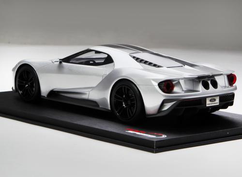 1/18 TSM TopSpeed Fort GT (Silver) Enclosed Car Model