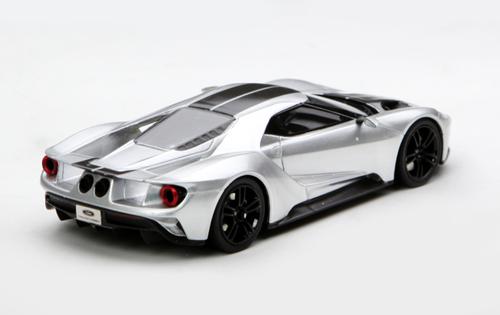 1/43 TSM TopSpeed Ford GT (Silver) Enclosed Diecast Car Model