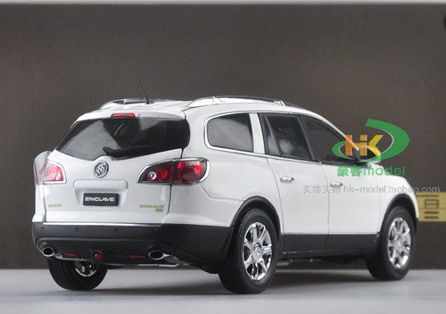 1/18 Dealer Edition Buick Enclave (White) Diecast Car Model