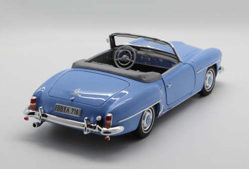 1/18 Norev Mercedes-Benz MB 190 SL 190SL Convertible (Blue) Diecast Car Model