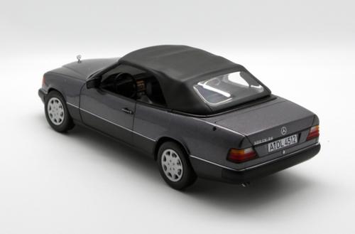 1/18 Norev 1990 Mercedes-Benz MB 300 CE 300CE Cabriolet (Grey) Diecast Car Model
