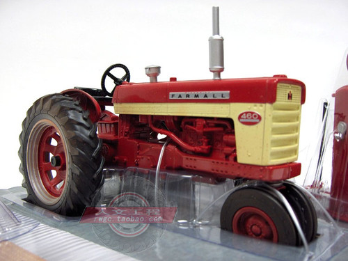 1/16 ERTL Farmall Case 460 Tractor Diecast Model