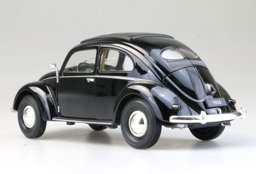 1/18 Welly 1950 Classic Volkswagen VW Beetle (Black) Diecast Car Model