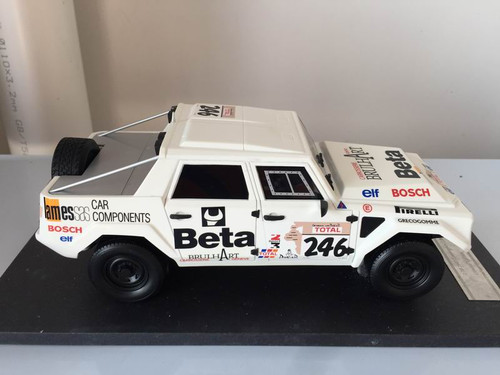 1/18 Handmade Resin Lamborghini LM002 Race Version Car Model