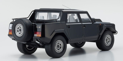 1/18 Kyosho Lamborghini LM002 (Black) Enclosed Car Model