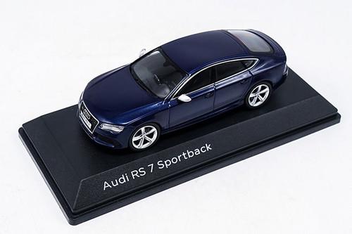 1/43 Dealer Edition Audi RS7 Sportback (Blue) Diecast Car Model