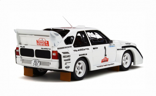 1/18 OTTO Audi S1 Quattro Olympus Rally Enclosed Car Model Limited 2000