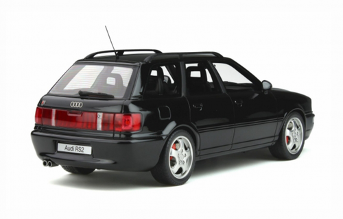 1/18 OTTO Audi RS2 (Black) Enclosed Car Model Limited 2000
