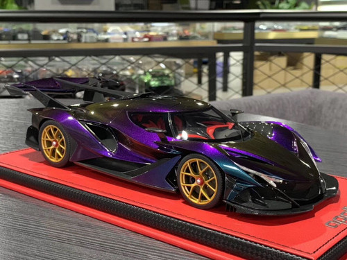 1/18 Peako Apollo IE (Purple) Resin Enclosed Car Model