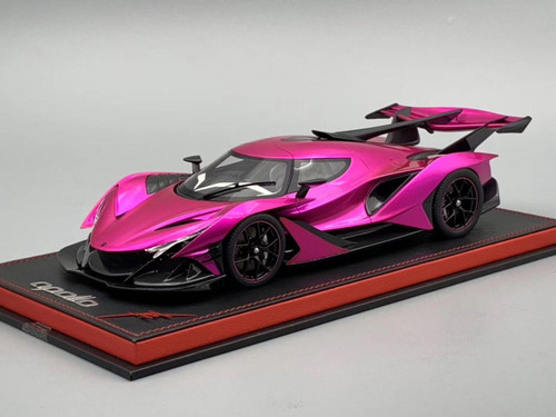 1/18 Peako Apollo IE (Pink) Resin Enclosed Car Model