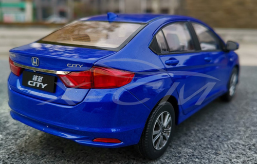 1/18 Dealer Edition 2018 Honda City (Blue) Diecast Car Model