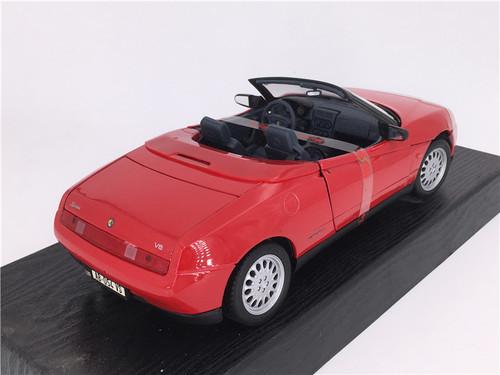 RARE 1/18 Maisto Special Edition 1995 Alfa Romeo Spider (Red) Diecast Car Model
