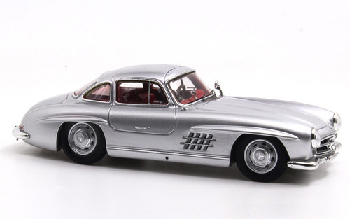 1/43 Spark 1956 Mercedes-Benz MB 300SL 300 SL (Silver) Diecast Car Model